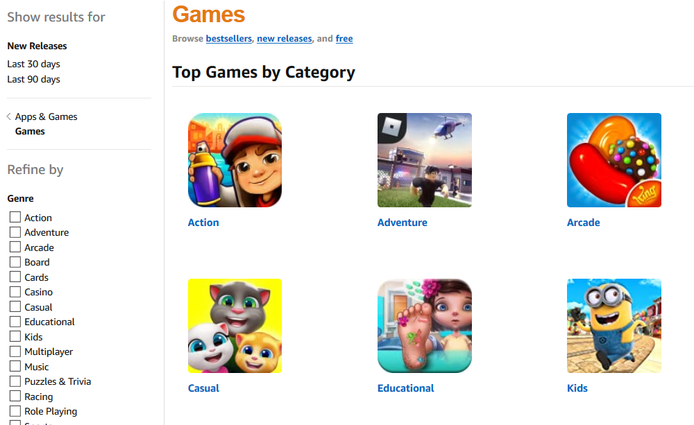 Amazon com Games Apps Games