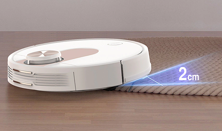 The VIOMI SE is a 2 in 1 vacuum cleaner,