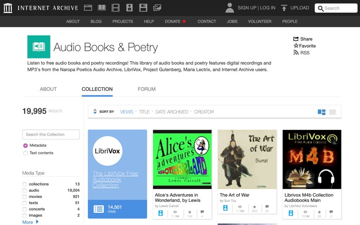 10 Amazing Sites to Stream and Download Audiobooks for Free 4