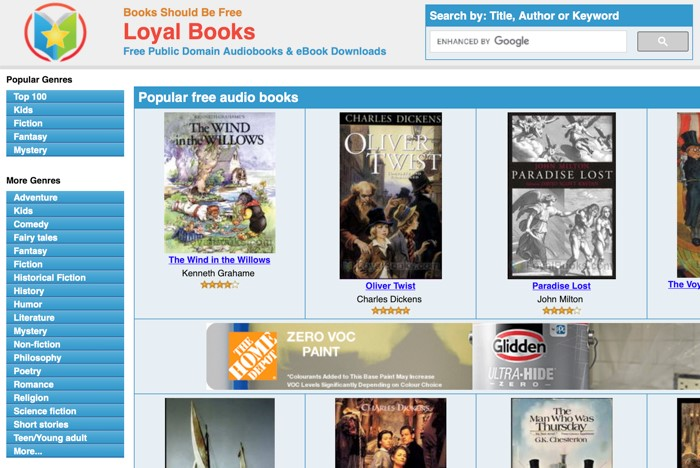10 Amazing Sites to Stream and Download Audiobooks for Free 5