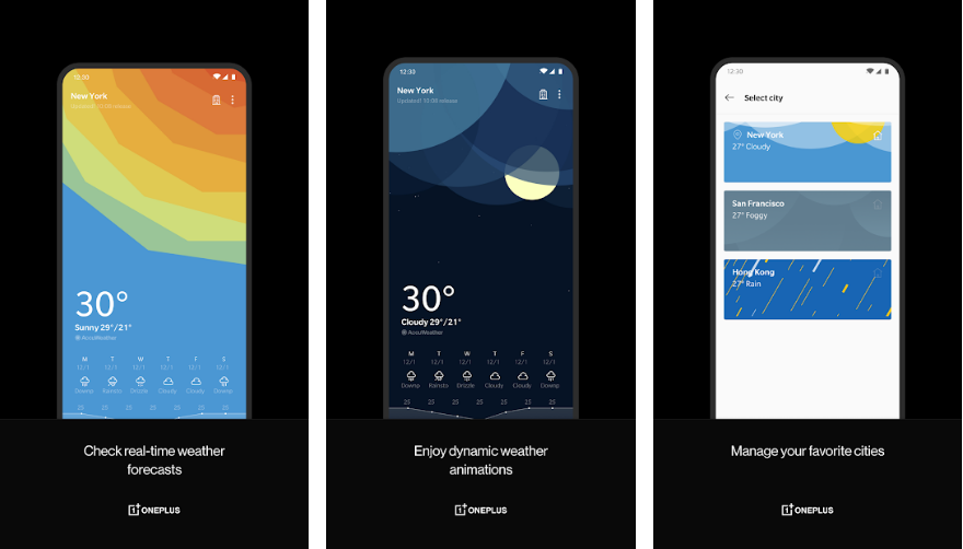 OnePlus Weather-best-weather-app