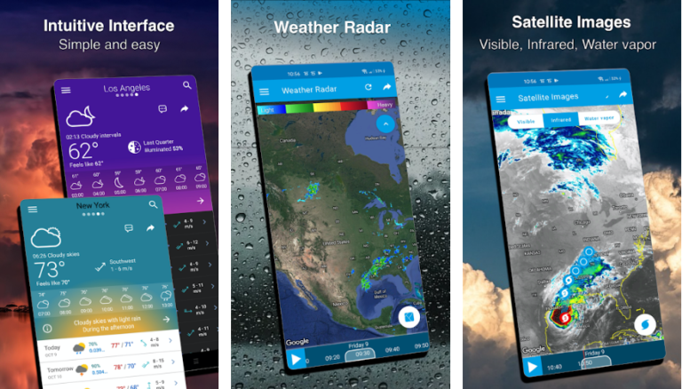 10 Best Weather App for Android 2020