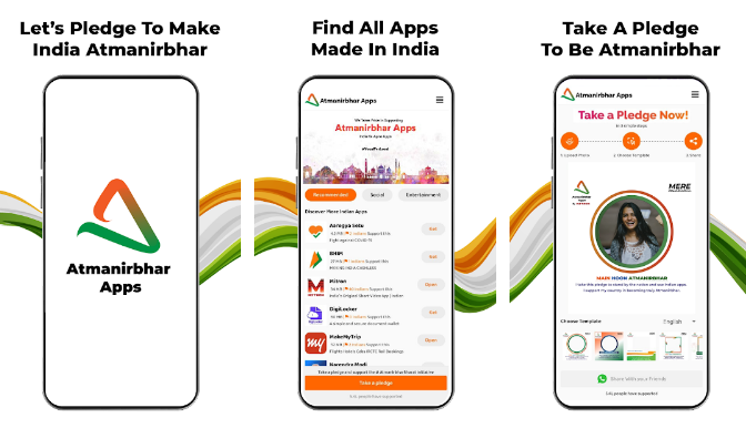 Mitron launches Atmanirbhar Apps
