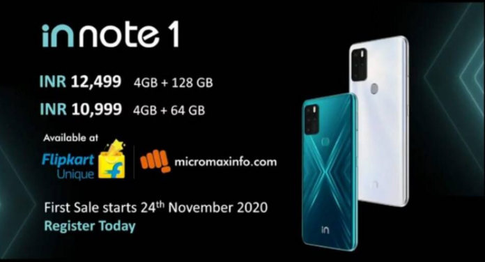 Micromax In 1b and Micromax In Note 1 launched