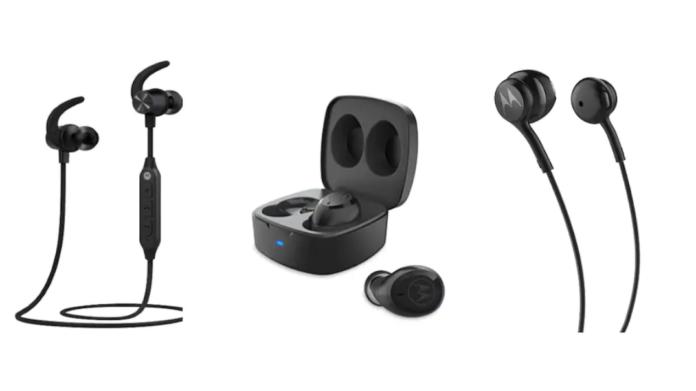 Motorola Launches Verve Buds 100, Rap 105, Loop 105 Earphones