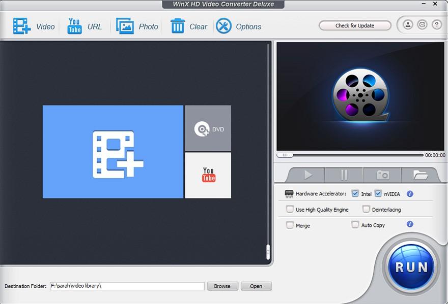 WinX Video Converter – Free Convert, Download & Compress Video on Windows 10 1