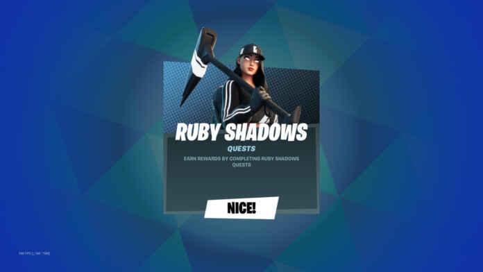 Fortnite Shadow Ruby Pac
