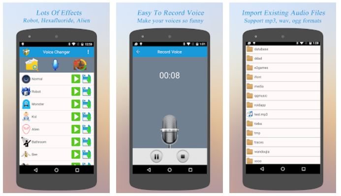 Best Voice Changer discord android