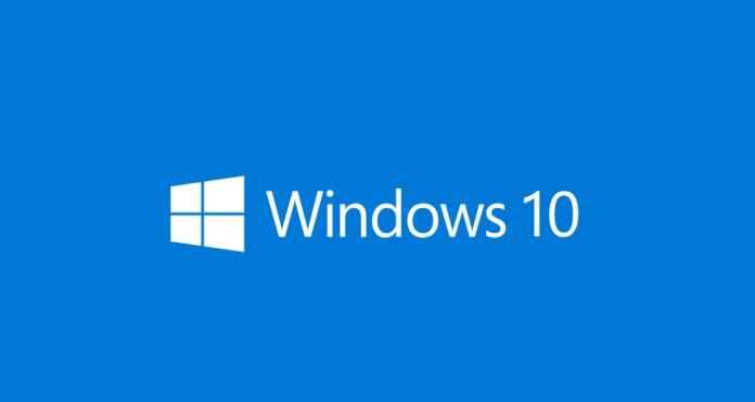 Update Of Windows 10