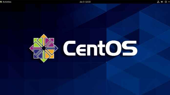 CentOS GUI process