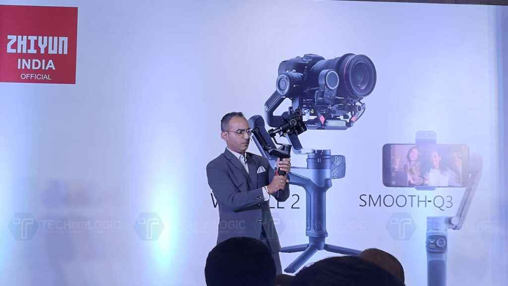 Zhiyun Smooth Q3 and Weebill 2 Gimbals launched in India 7